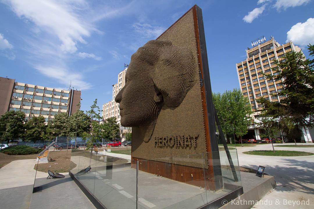 Heroines Monument Pristina Kosovo-2