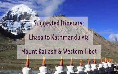 Suggested Tibet Itinerary: Lhasa to Kathmandu via Mount Kailash and Western Tibet