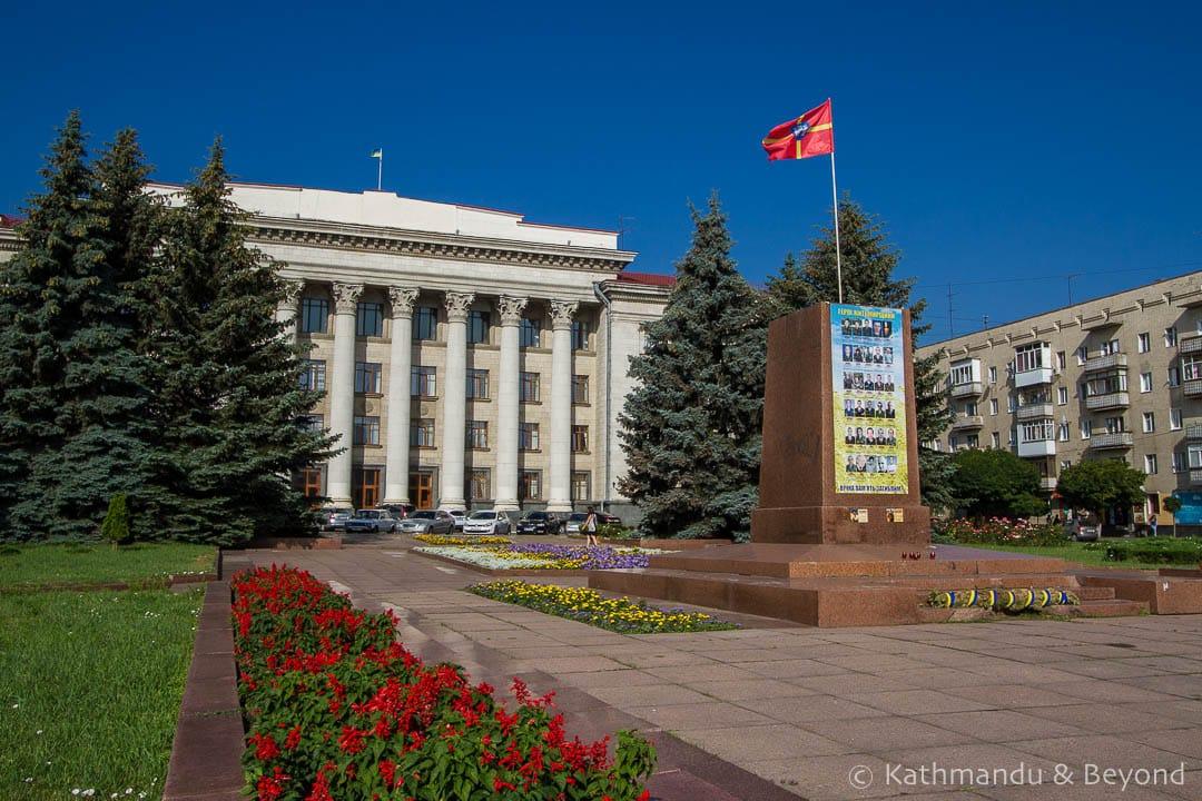 Main Square (Maydan Soborny) Zhytomyr Ukrainian-2