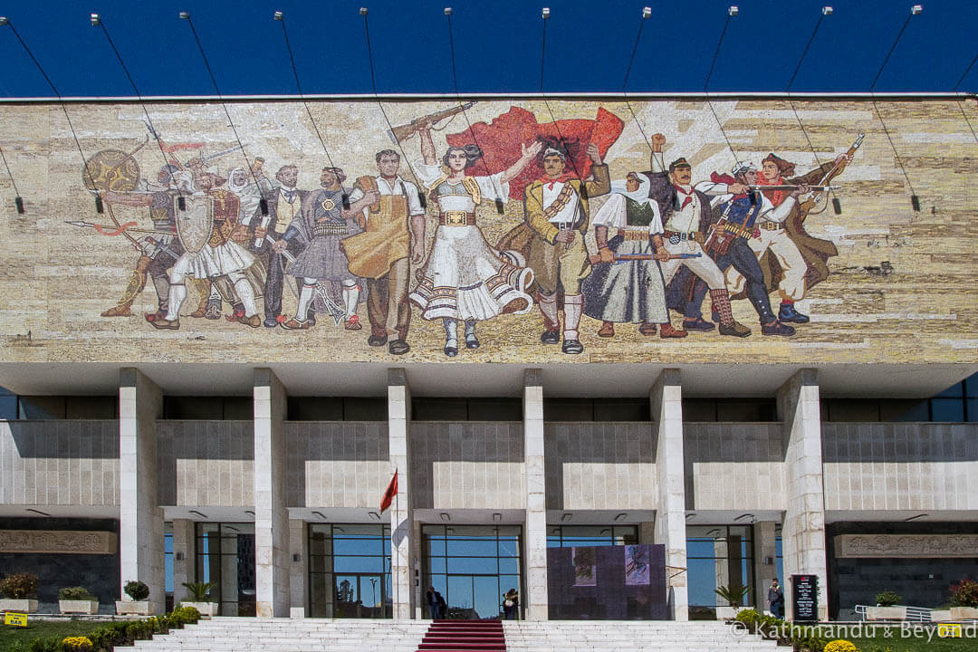 National Museum of History Skanderbeg Square Tirana Albania (1)