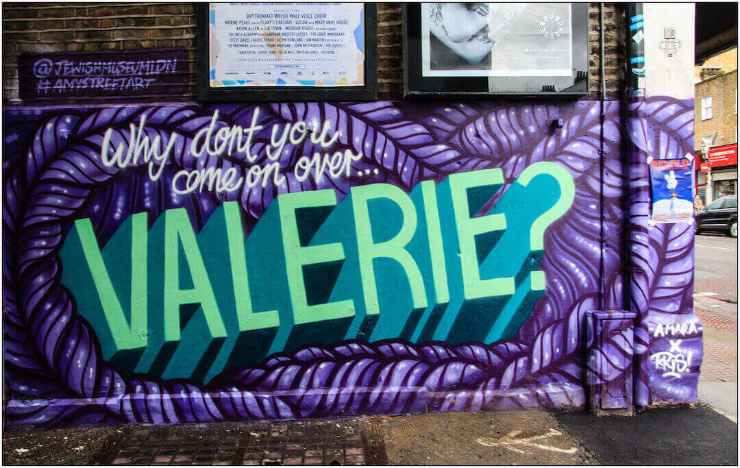 Valerie - Amy Street Art Trail Camden London - Flickr