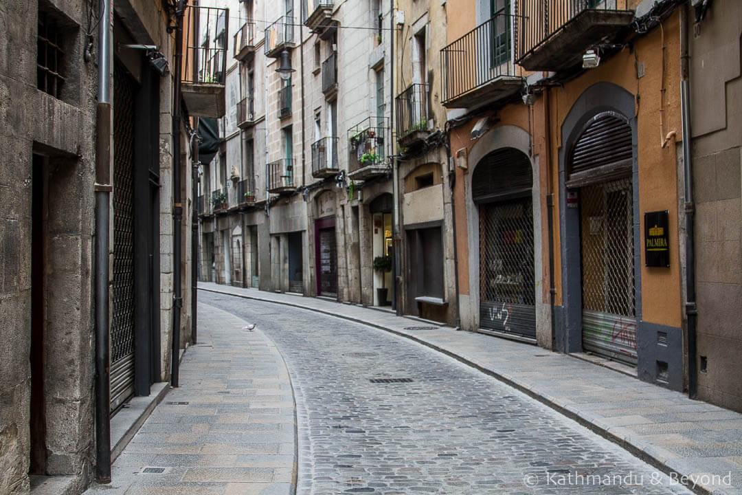 Barri Vell (old quarter) Girona Spain-2-2