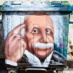Travel Shot | Einstein Street Art in Sofia | Bulgaria