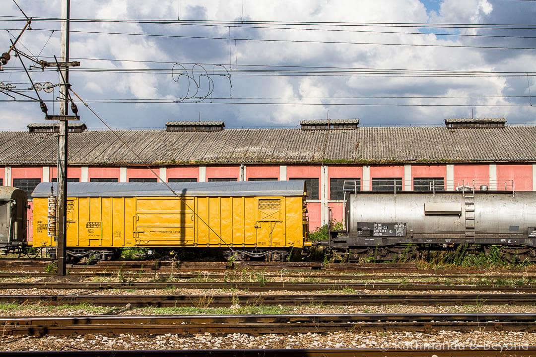 Railway Station Subotica Serbia-1
