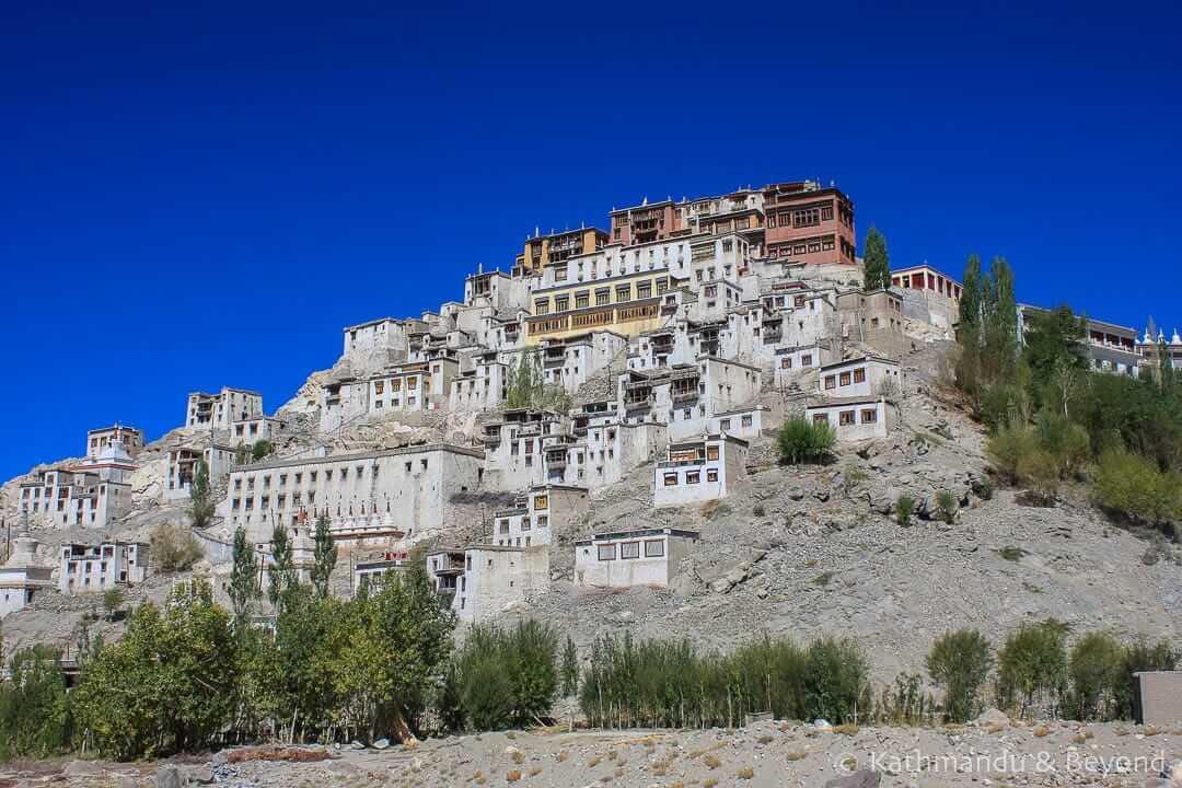 Thiksey Monastery Ladakh India 2