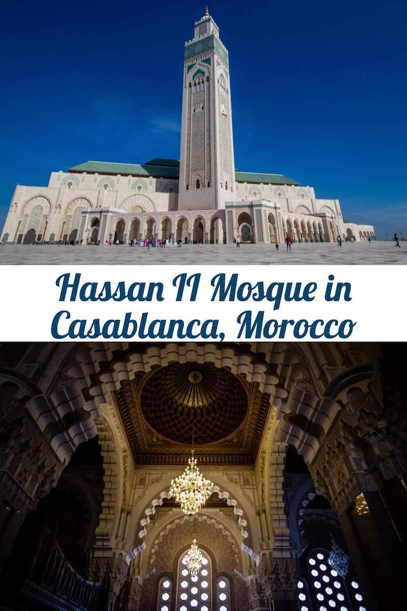 Visiting Hassan II Mosque in Casablanca, Morocco
