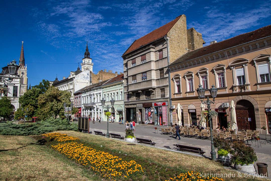 Zmaj Jovina Street Novi Sad Serbia-2