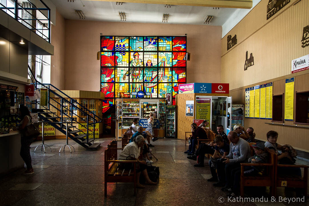 Bus Station Rivne Ukraine-3