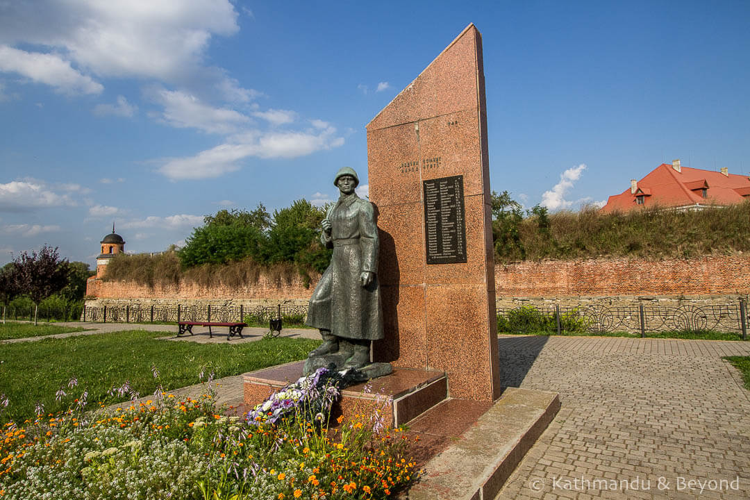 Monument to Fallen Soldiers in Dubno, Ukraine | Soviet memorial | former USSR