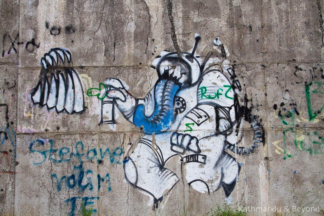 Street Art in Podgorica, Montenegro