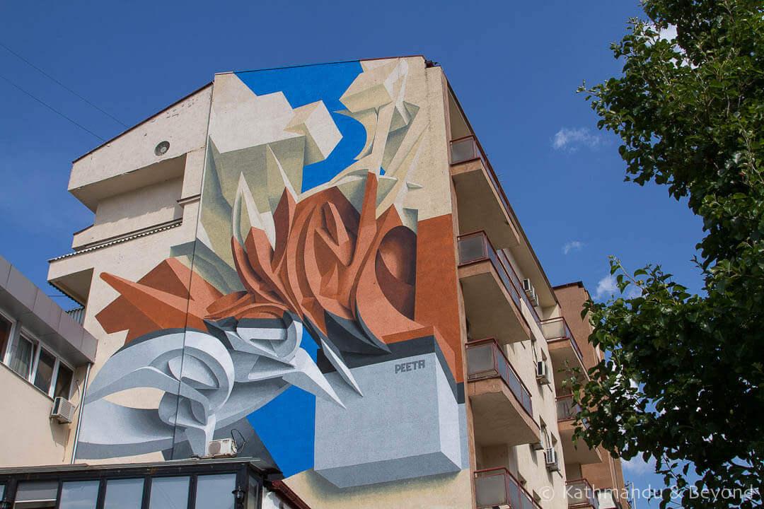 Street Art in Pristina Kosovo