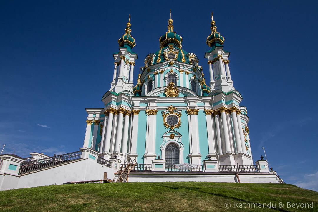 St Andrew's Cathedral Kiev Ukraine -1
