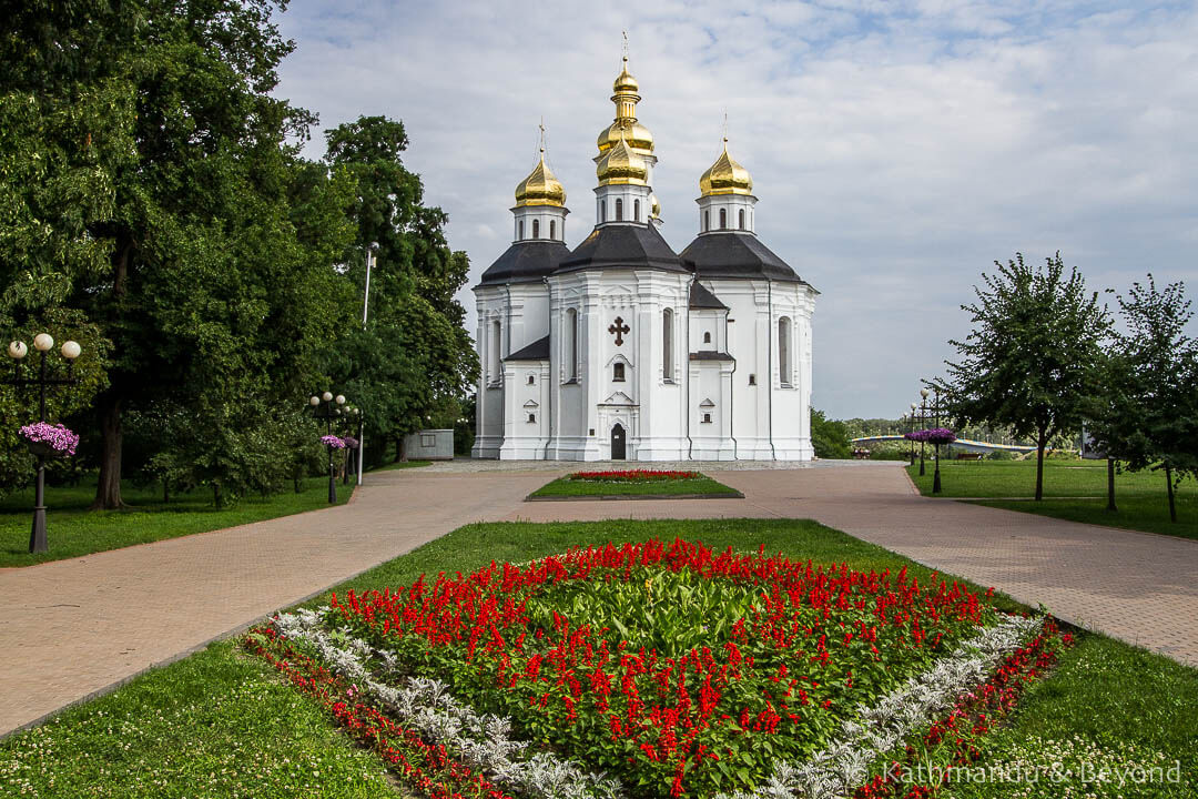 Things to see in Chernihiv - St Catherine's Church Chernihiv Ukraine
