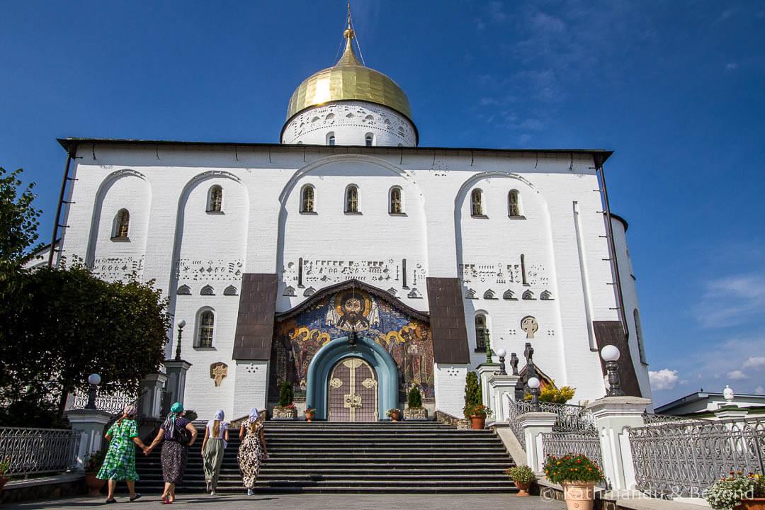 Trinity Church Pochayiv Monastery Pochayiv Ukraine-3