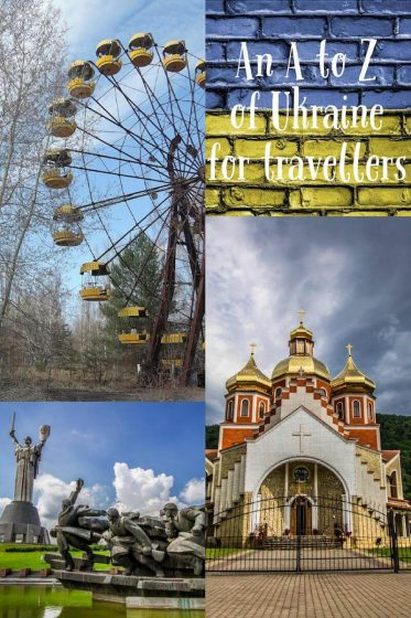 An A to Z of Ukraine