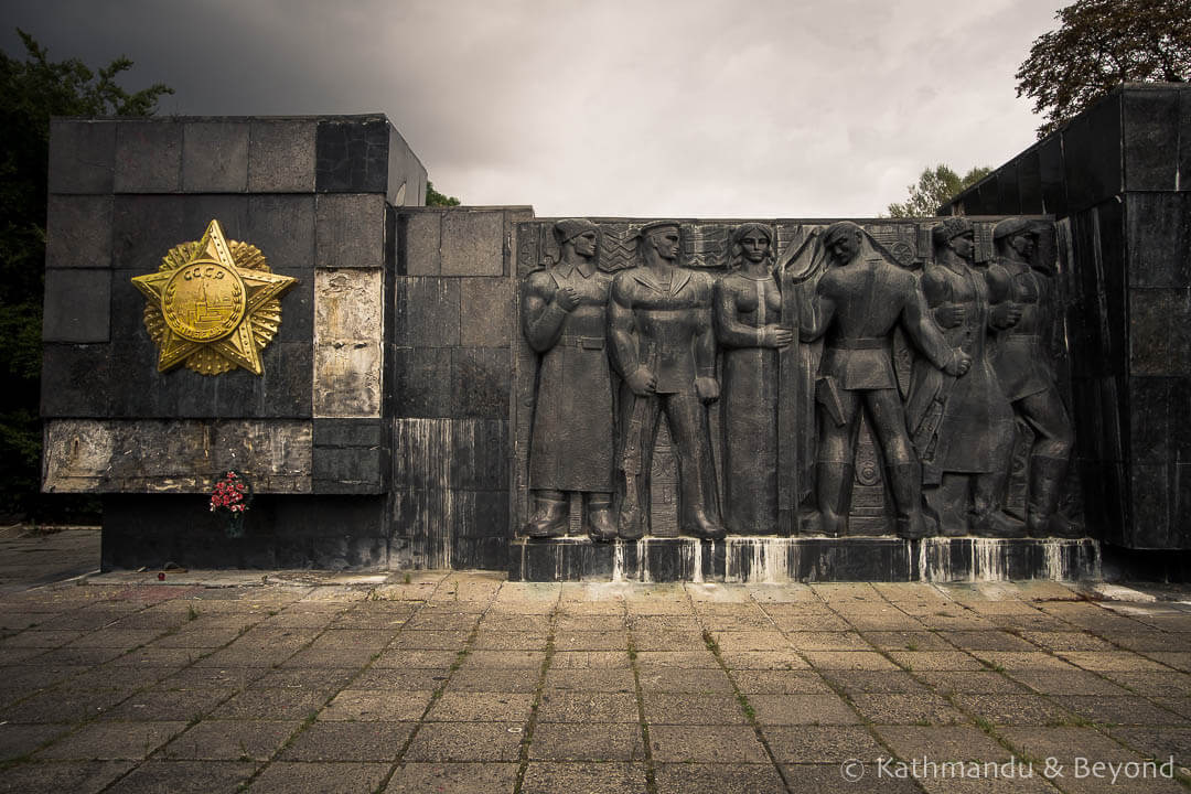 Monument to the War Glory of the Soviet Army Lviv Ukraine-7