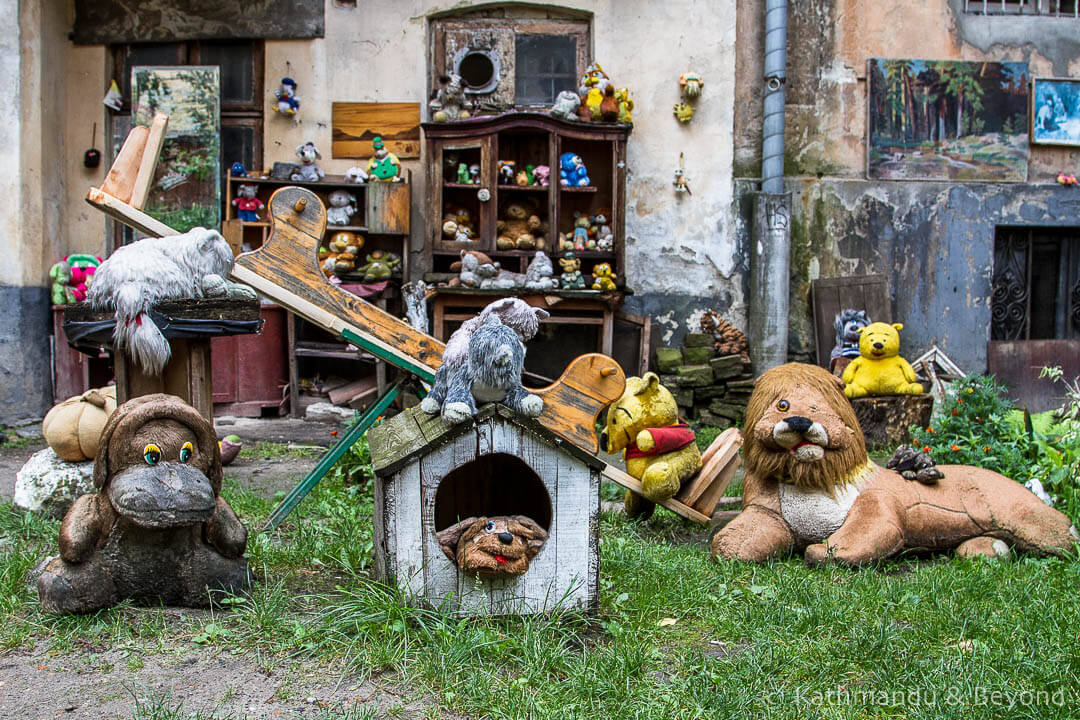 The Yard of Lost Toys Lviv Ukraine | A to Z of Ukraine