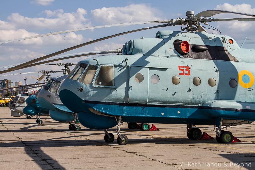 Ukraine State Aviation Museum Kiev Ukraine-42
