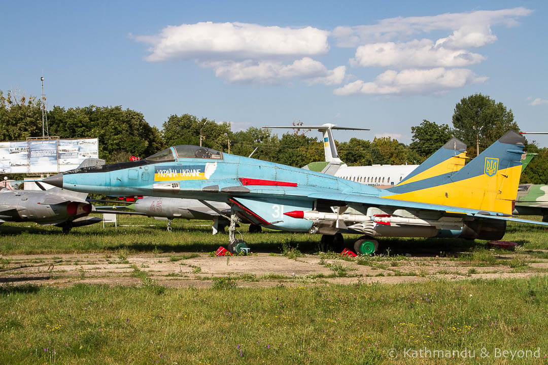 Ukraine State Aviation Museum Kiev Ukraine-50
