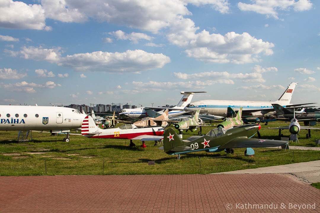 Ukraine State Aviation Museum Kiev Ukraine-61