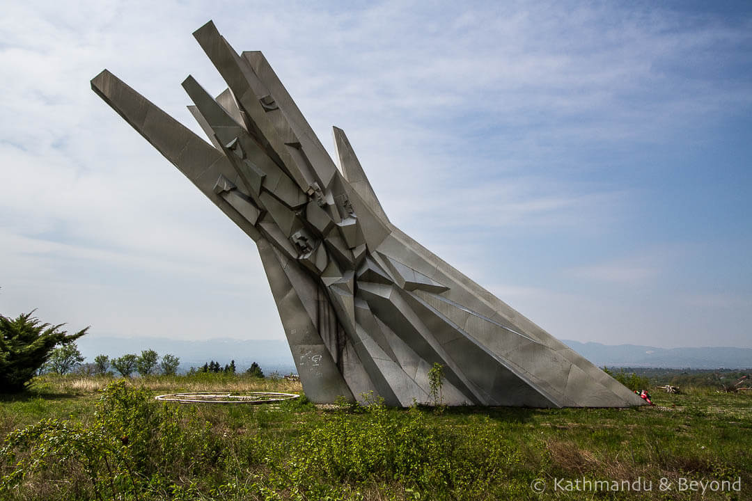 Monument to Courage (Monument to the Fallen Soldiers of the Čačak Partisan Detachment) in Ostra, Serbia | Spomenik | Socialist memorial | former Yugoslavia