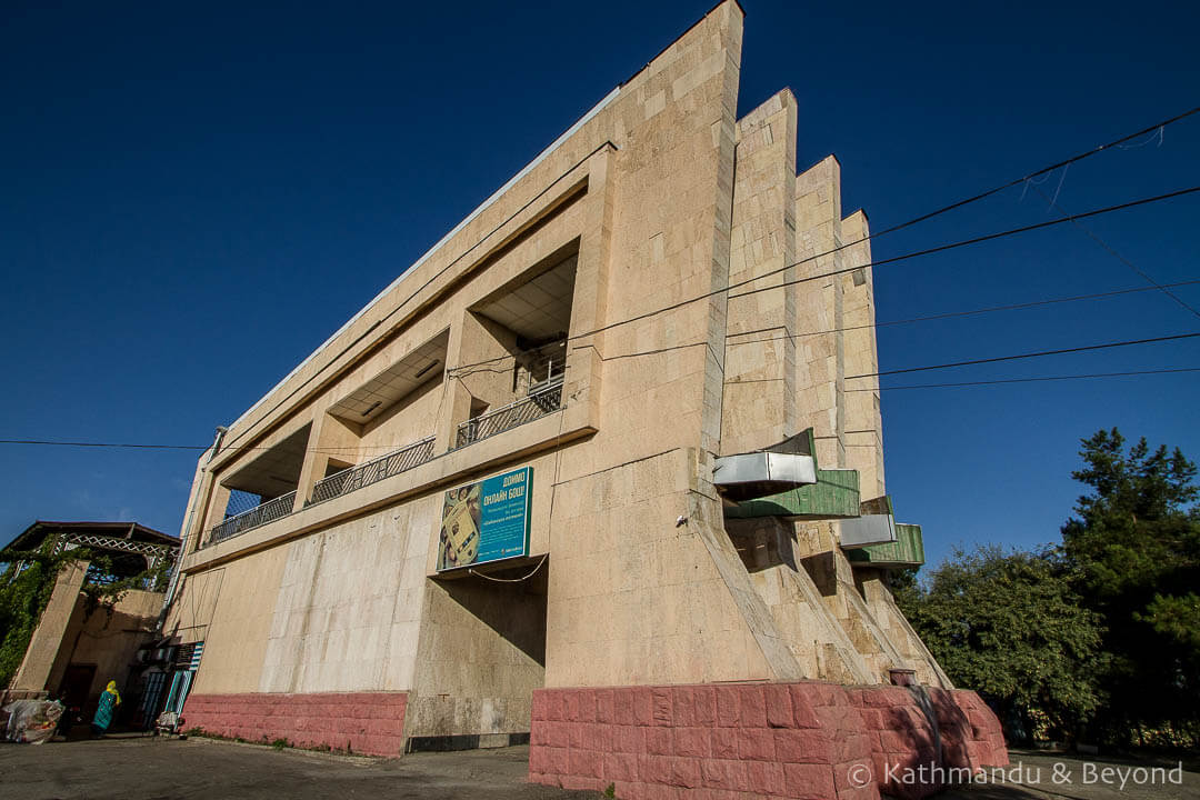 Cable Car Top Station in Dushanbe, Tajikistan | Brutalist | Soviet architecture | former USSR