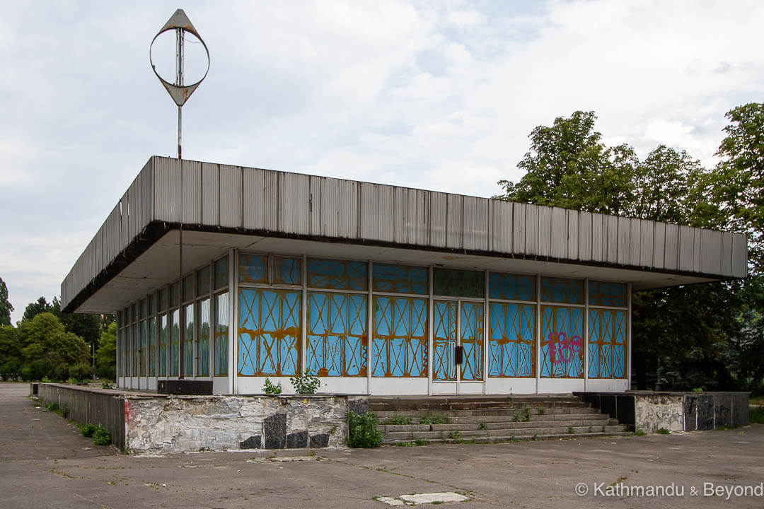 Expocenter of Ukraine in Kyiv, Ukraine | Modernist | Soviet architecture | former USSR
