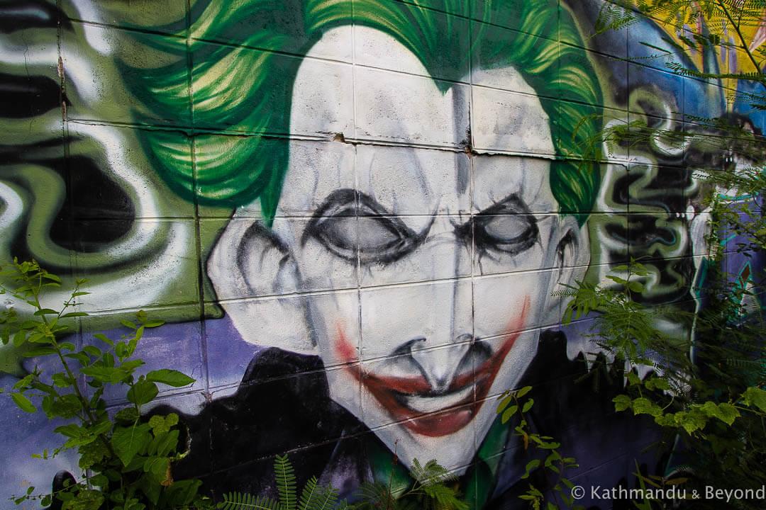 Street Art in Hua Hin Thailand