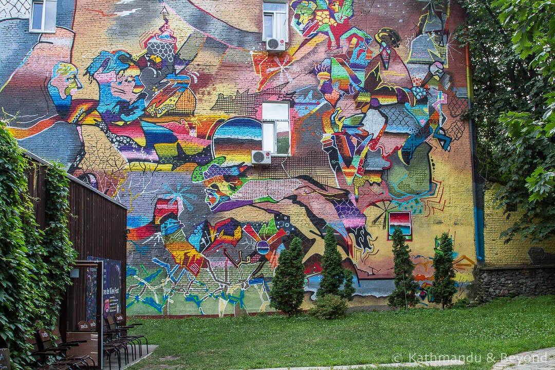 Yaroslav the Wise | Street Art in Kiev Ukraine-13