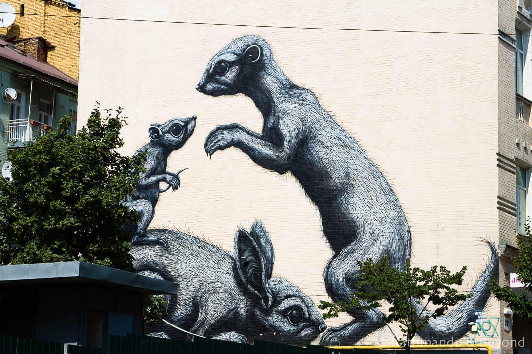 Rodents | Street Art in Kiev Ukraine-7-2