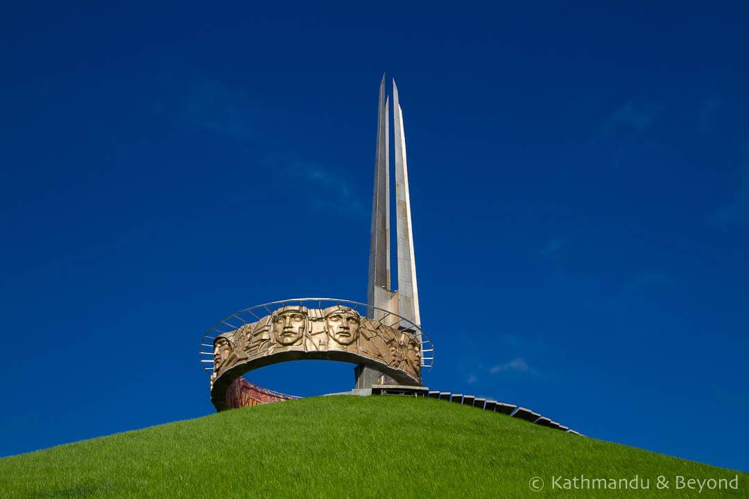 Mound of Glory in Minsk, Belarus | War memorial | Soviet architecture | former USSR