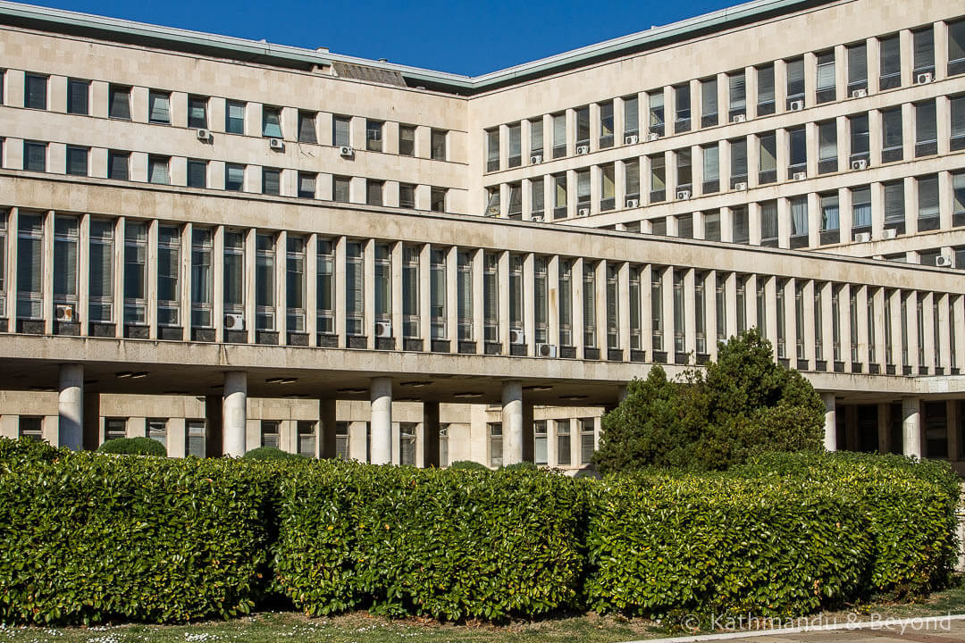 Palace of Serbia (Federal Executive Council 1/SIV 1) in Belgrade, Serbia | Modernist | Socialist architecture | former Yugoslavia