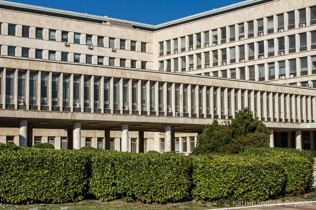 Palace of Serbia (SIV 1) Belgrade Serbia