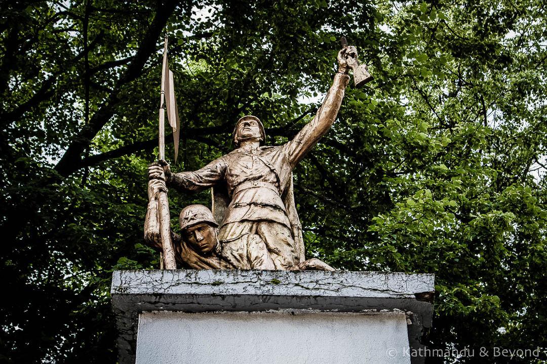 War Memorial Dnipro Ukraine