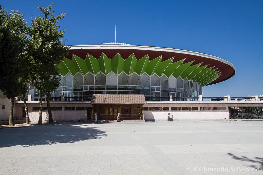 State Tajikistan Circus Dushanbe Tajikistan