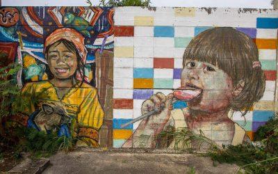 Street Art in Hua Hin, Thailand