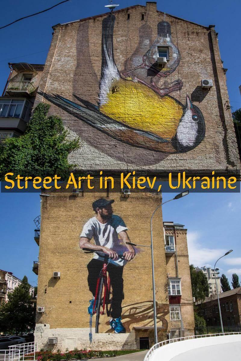 Street Art in Kiev Ukraine - A walking tour