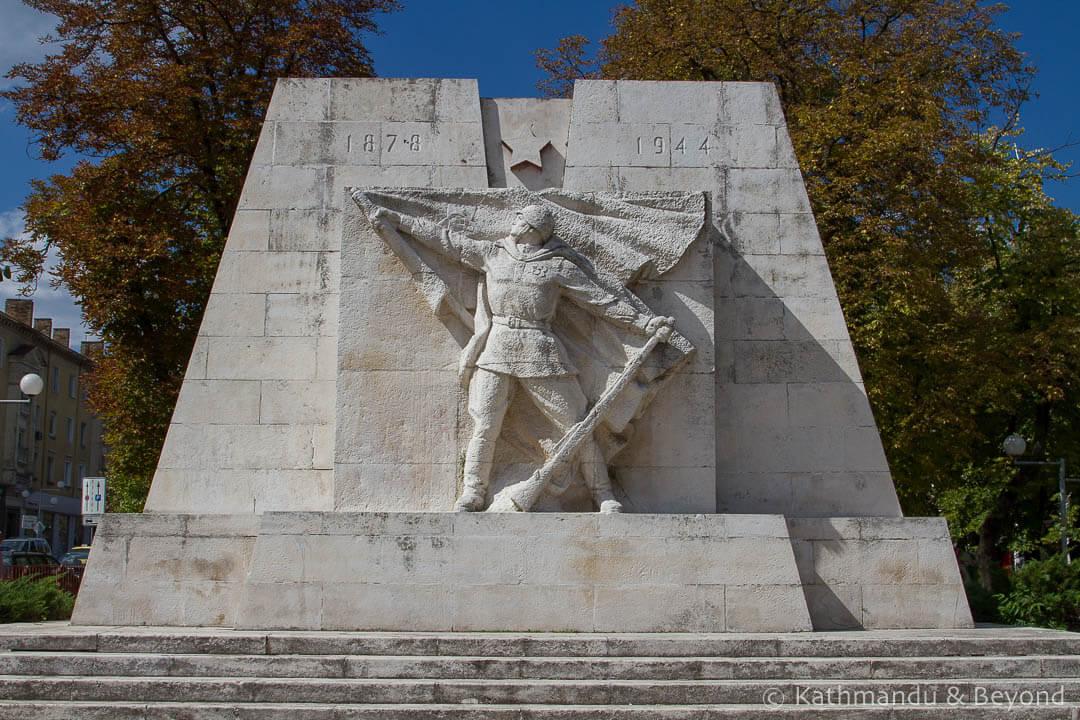 World War II Memorial Shumen Bulgaria