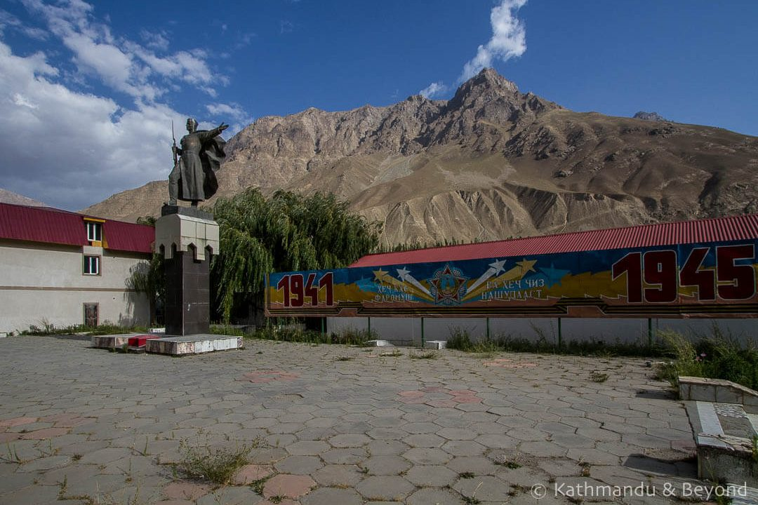 World War II Memorial Khorog Tajikistan-1