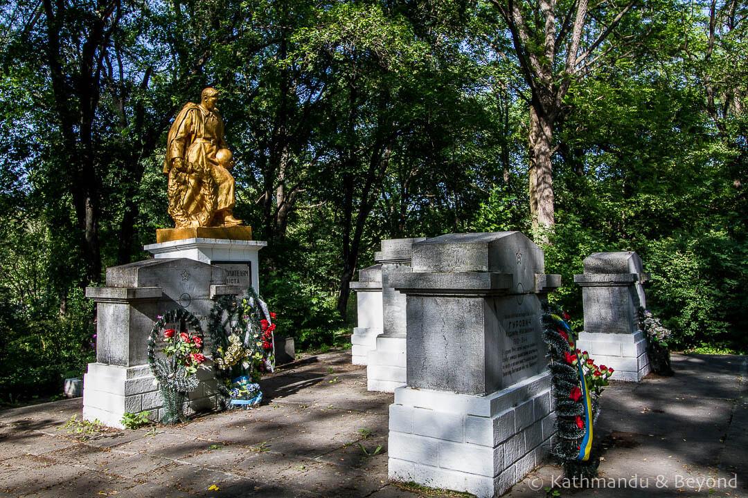 War Memorial Kamyanets-Podilsky Ukraine