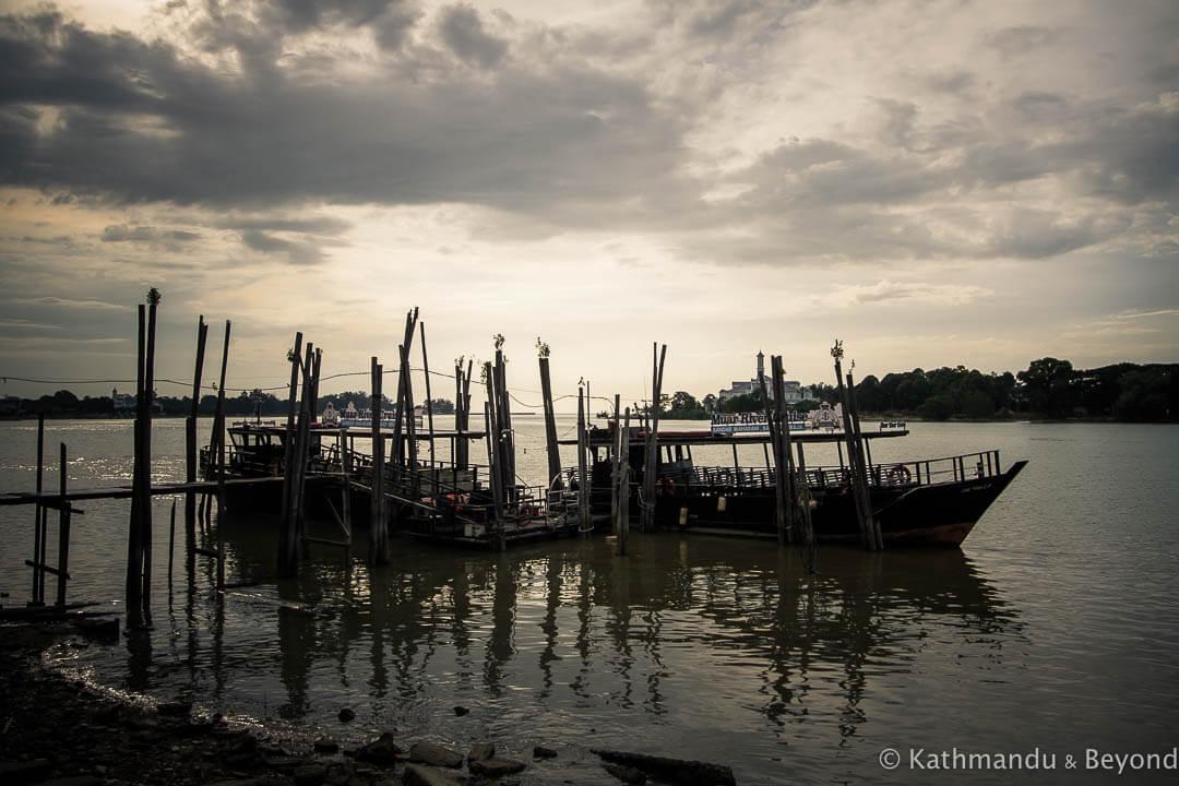 Muar River Muar Malaysia