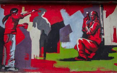Seeking out Street Art in Skopje, Macedonia
