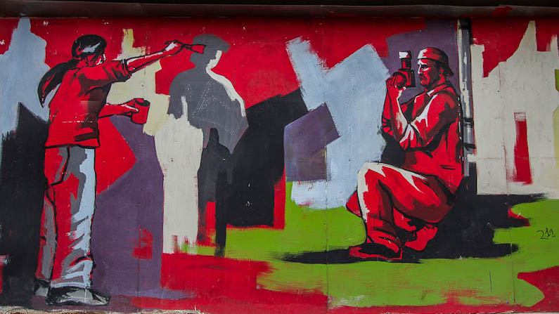 Seeking out Street Art in Skopje, Macedonia