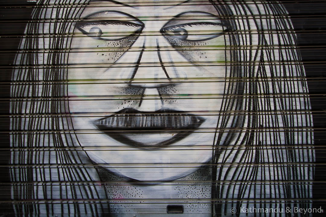 Street Art in Thessaloniki Greece