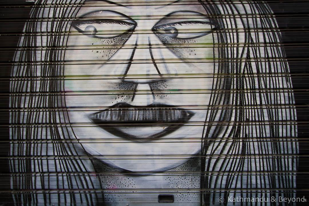 Street Art in Thessaloniki Greece