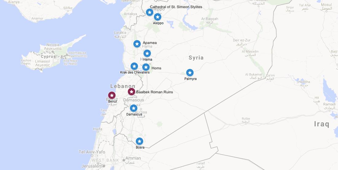 A journey through pre-civil war Syria