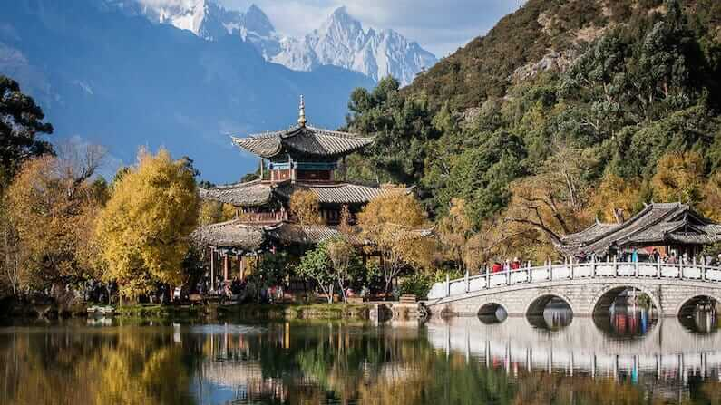 Black Dragon Pool Lijiang, China