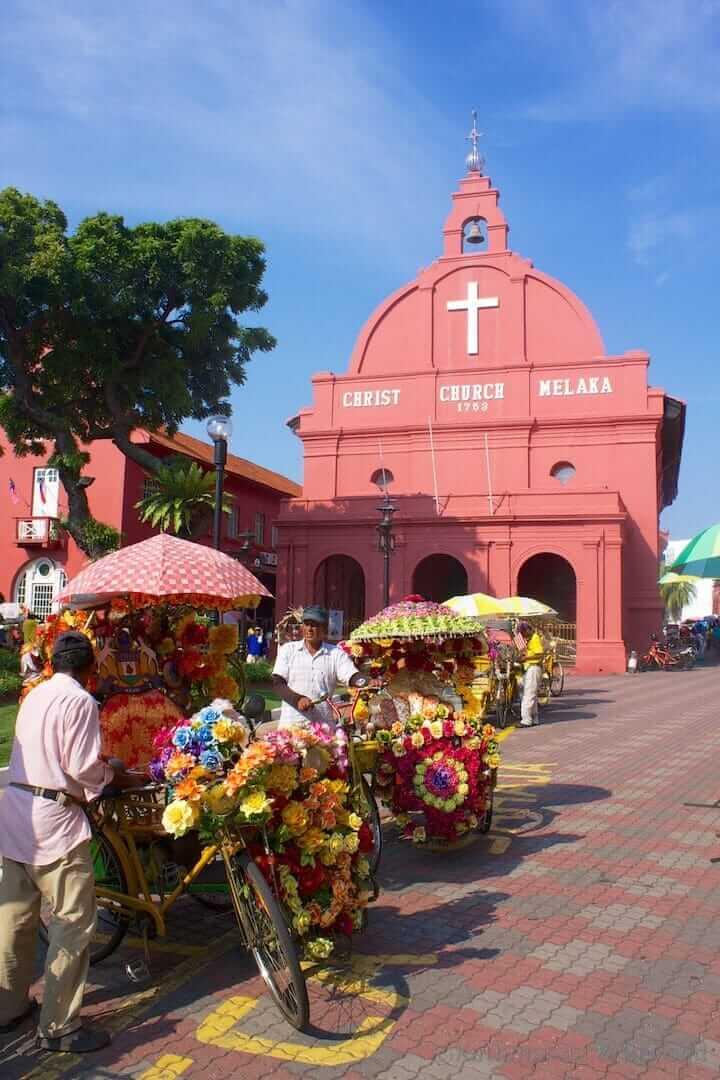 Christ Church Melaka (Malacca) Malaysia