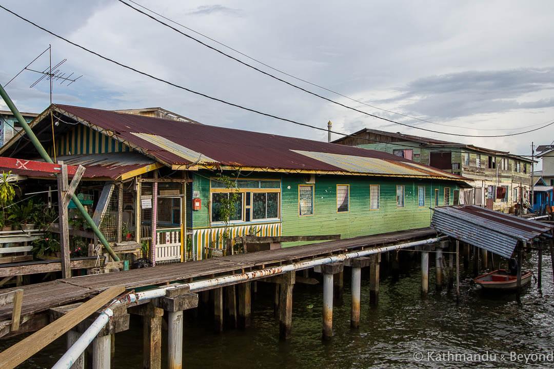 Kampong Ayer Bandar Seri Begawan Brunei-7