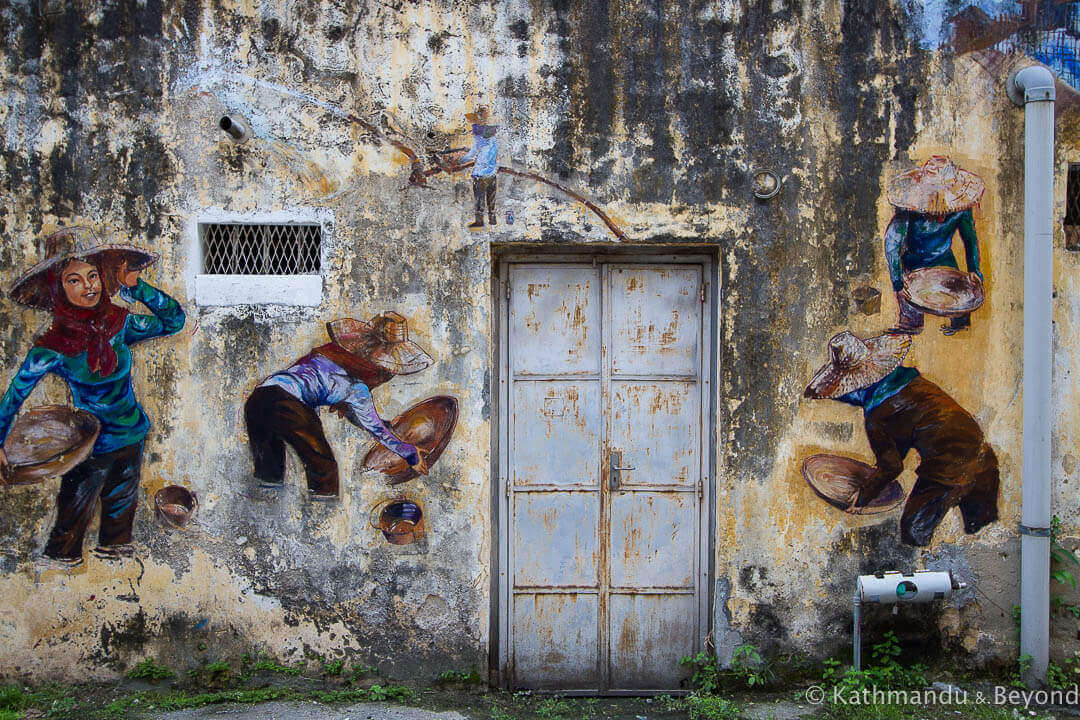 Street Art In Ipoh Malaysia South East Asia Murals Graffiti